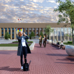 Главную площадь Домодедово изменят за 150 миллионов рублей