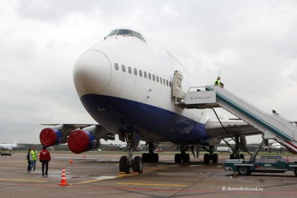 Настоящее учебное воздушное судно Boeing 747