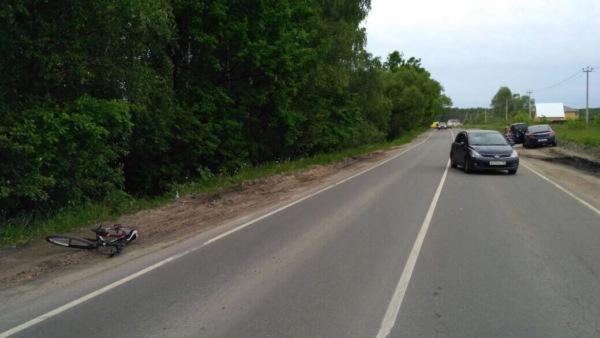 ДТП с участием велосипедиста в Домодедово