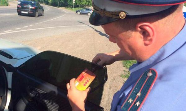 Домодедовская Госавтоинспекция подвела итоги профилактического мероприятия «Тонировка»