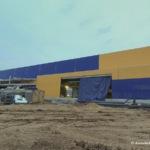 Строительство гипермаркета «Лента» на улице Кирова