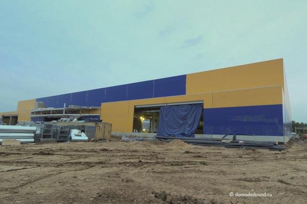 Строительство гипермаркета «Лента»
