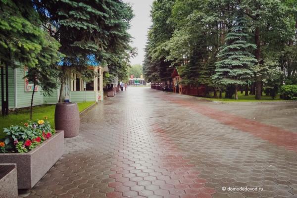 Парк Ёлочки в Домодедово