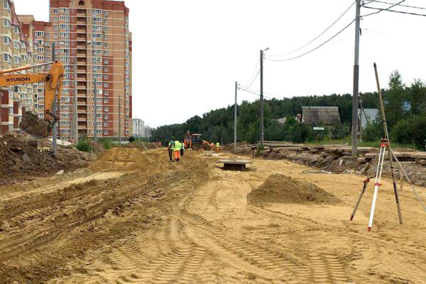 Главгосстройнадзор проверил безопасность на стройплощадке в г.о. Домодедово