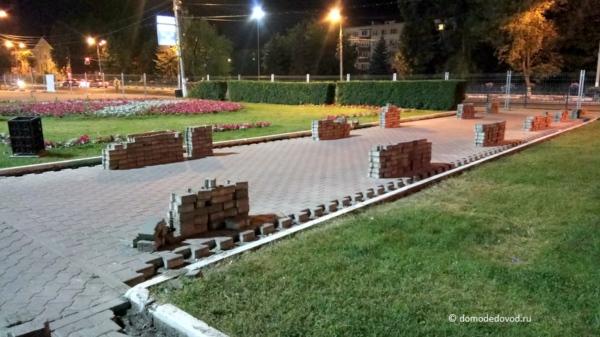 Реконструкция площади