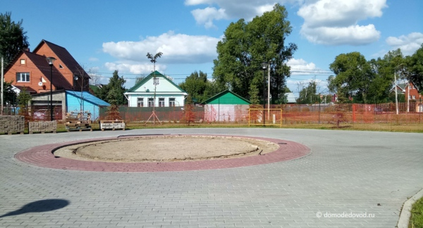 Аллея Чернобыльцев в Домодедово