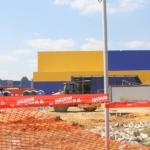 Около «Ленты» на Кирова строят парковку