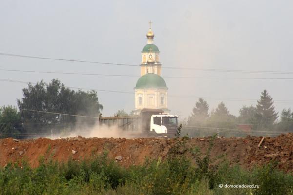 Свалка около села Домодедово