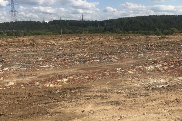 Минэкологии расследует факт отсыпки мусором карьера в Домодедово
