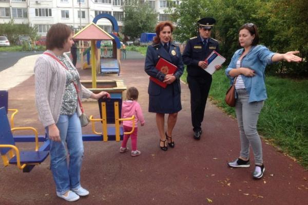 Госадмтехнадздор проинспектировал детские площадке