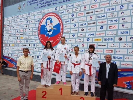 Спортсмены из Домодедово - призеры Всероссийских юношеских игр боевых искусств