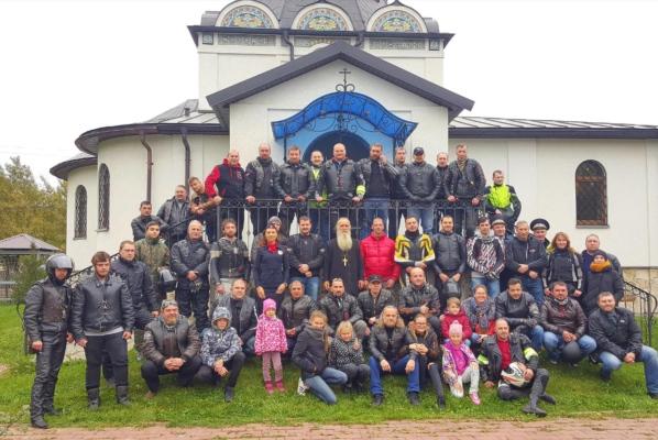 Закрытие мотосезона в Домодедово