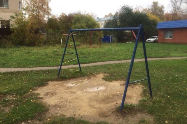 В поисках детских площадок