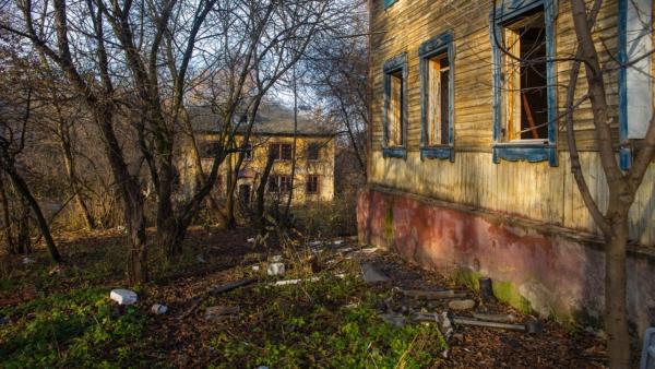 Заброшенные дома в Домодедово