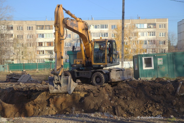 Строительство ЖК «Олимпийский»