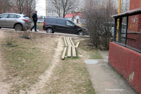 Благоустройство на улице Корнеева