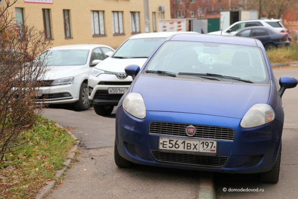 Нарушение правил парковки