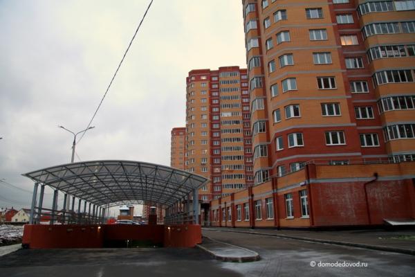 Новостройки Домодедово. ЖК «Лунный» и паркинг