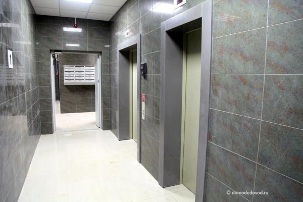 Лифтовый холл. Улица Дружбы, дом 2, корпус 1