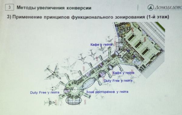 Кадр из презентациии аэропорта Домодедово