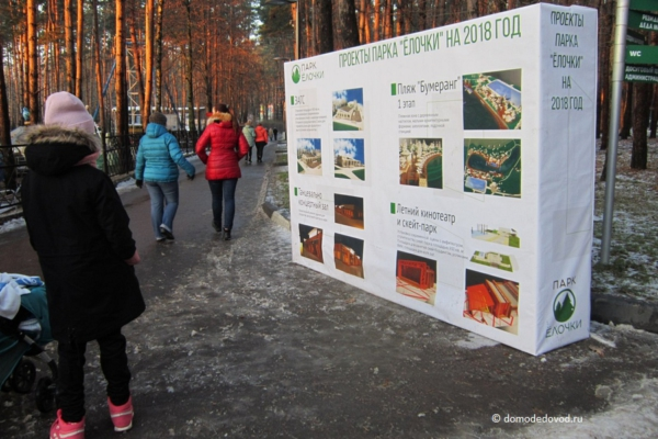 Проекты парка «Ёлочки»