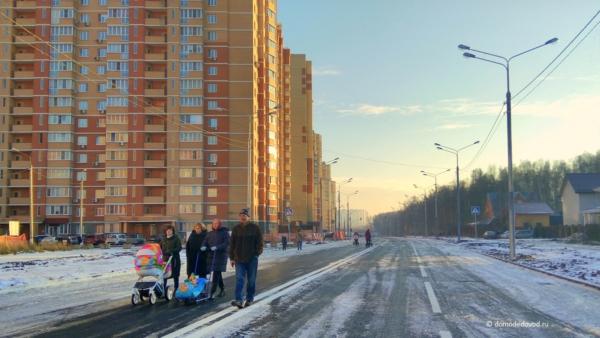 Пешеходная улица Лунная