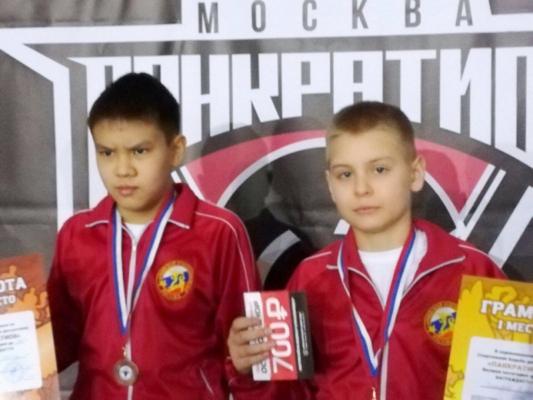 Юные спортсмены из Домодедово в призерах II Всероссийского турнира по панкратиону