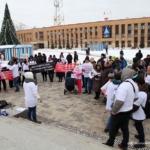 Обманутые дольщики ЖК «Город счастья» вышли на площадь