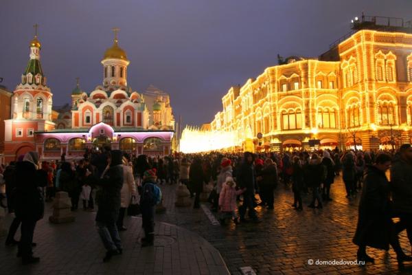 Москва посленовогодняя