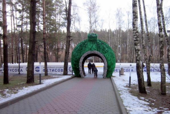 Парк «Ёлочки». Январь 2018