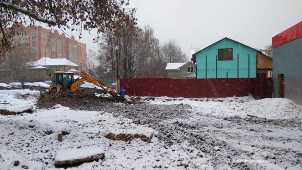 Строительство магазина на Советской улице, 13