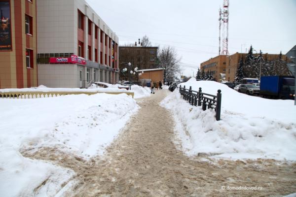 Снег. Каширское шоссе