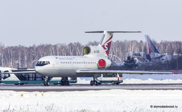 Як-42  АО «Саратовские авиалинии»