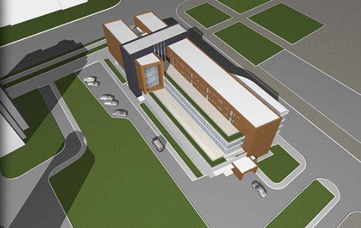 Проект нового общественно-делового центра в Домодедово на Каширском шоссе, 37