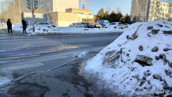 Тротуар на Рабочей