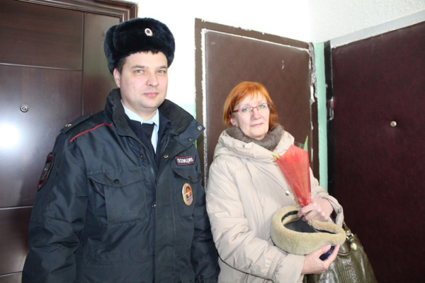 Всероссийская акция «8 марта - в каждый дом»