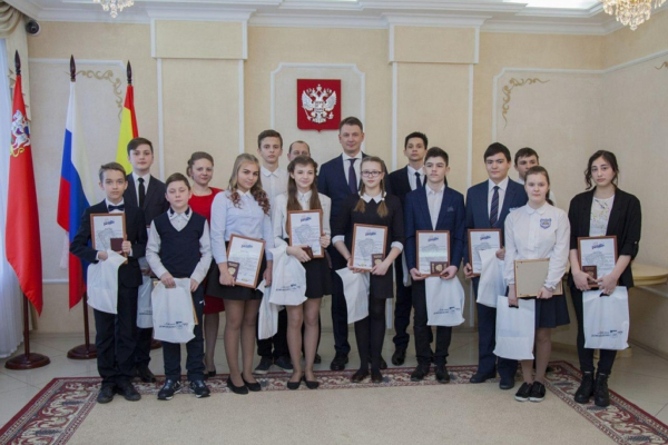 В Домодедово 13 подросткам вручили паспорта