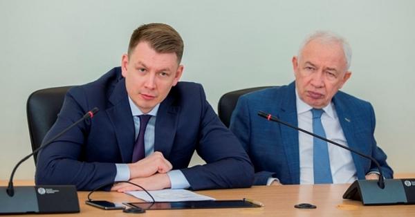 Александр Двойных и Леонид Ковалевский