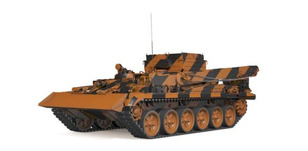 тягач на базе танка Т-72