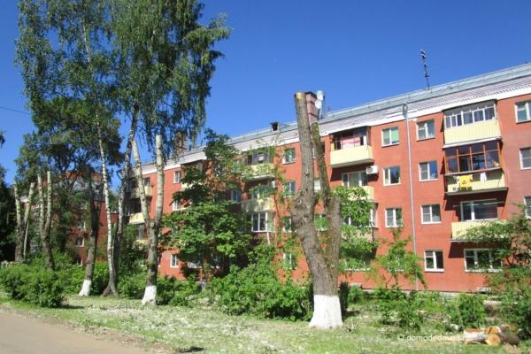 В Домодедово снова пилят деревья