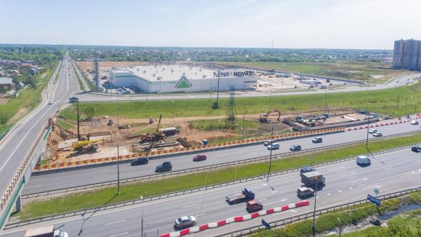 В микрорайоне Южный началась реконструкция моста через М-4 «ДОН»