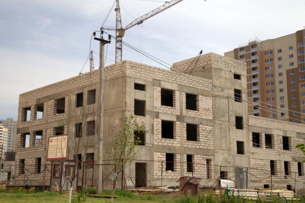 Недостроенные школа и детский сад в ЖК «Южное Домодедово»