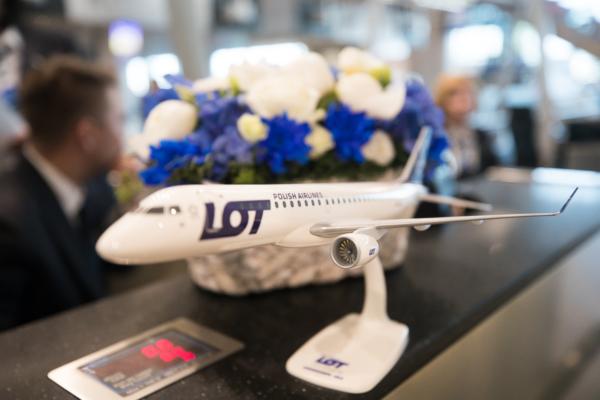 Авиакомпания LOT открыла рейсы в аэропорт Домодедово