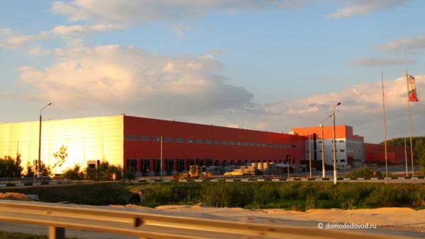 Строительство складского комплекса «Ашан»