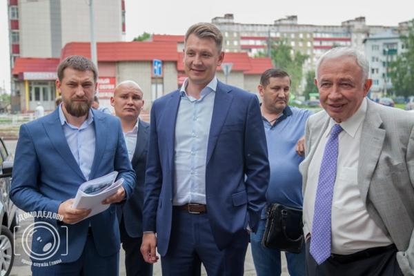 А.Двойных проверил ход ремонта объектов здравоохранения Домодедово