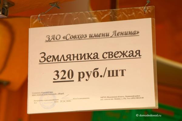 Клубника совхоза имени Ленина