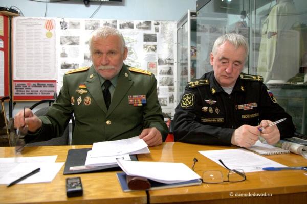 Скупов Борис Александрович и Овсянников Владимир Иванович