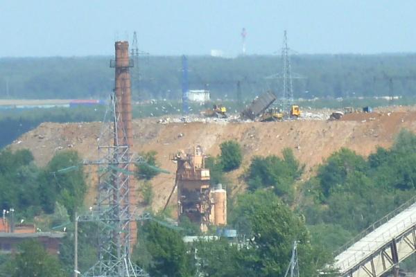 Свалка в Домодедово. 22.06.2018