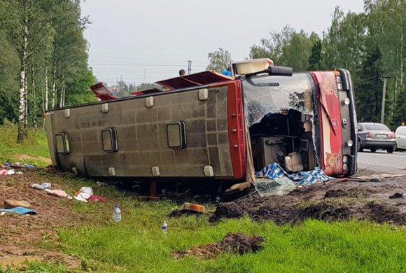 После аварии с автобусом в больнице остаются еще четверо пострадавших