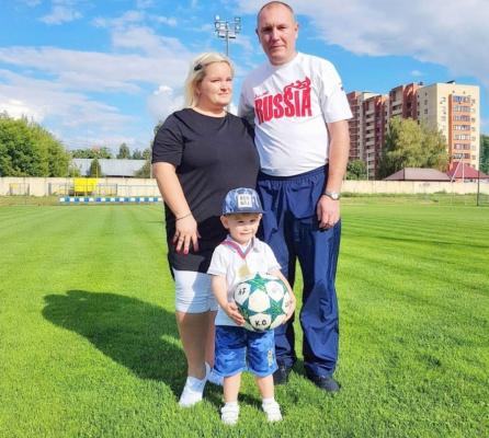 """Акция """"Наша семья, наш футбол"""""""